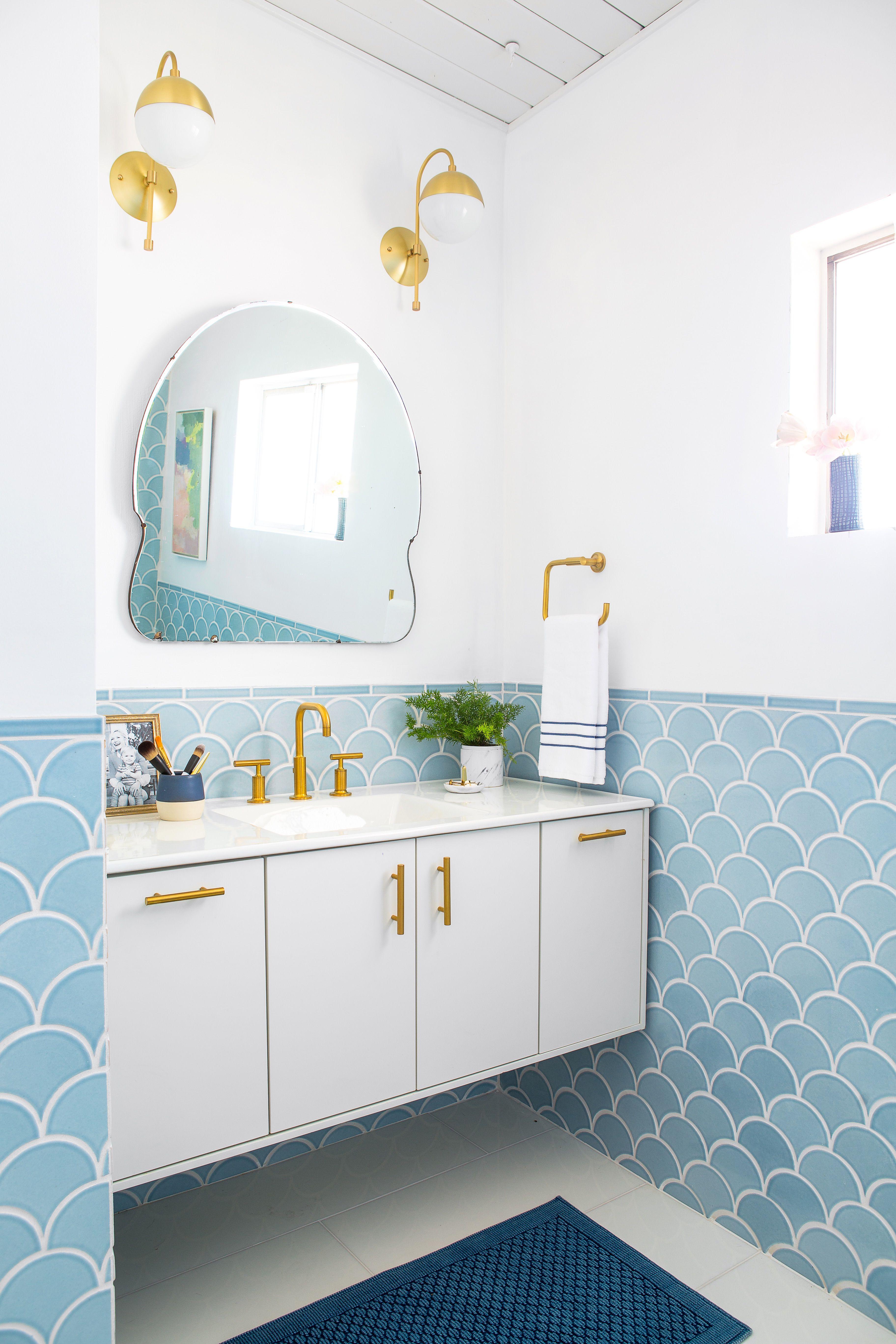 30+ Bathroom Tile Design Ideas - Tile Backsplash and Floor Designs for  Bathrooms