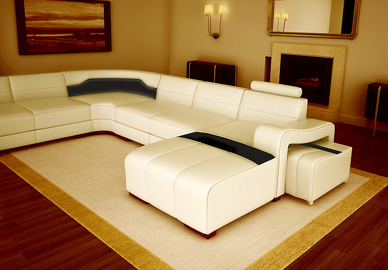 hot sale fashion beautiful sofa sets design V016-in Living Room