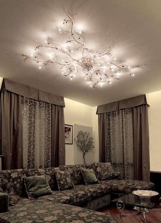 Mesmerize your guests with these gold contemporary style ceiling lamps that  will add a distinct touch to any room.