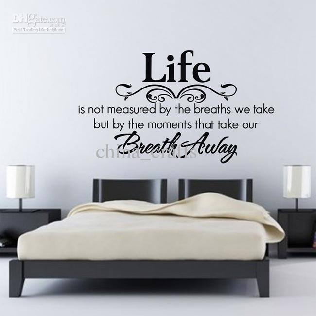 Bedroom Wall Quotes Living Room Wall Decals Vinyl Wall Stickers