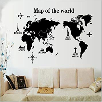 Beautiful bedroom wall art stickers