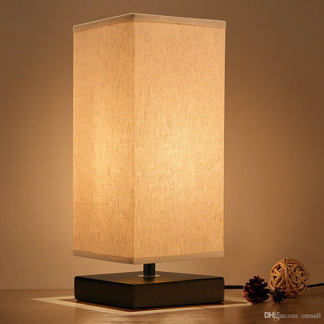 Ideas for bedside table lamps with night   light