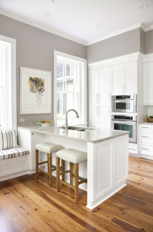 Sherwin-Williams Best Kitchen Paint Colors - Twilight Gray by Cynthia Ramsey
