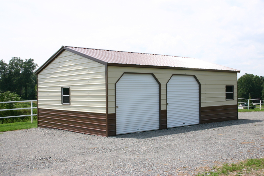 Image of: Best Metal Garage Buildings