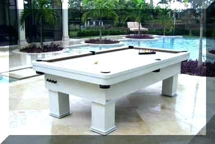 Waterproof Pool Table Outdoor Pool Table Tables For Indoor Use All R