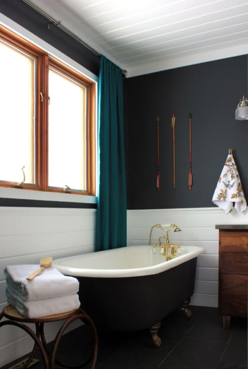 (Image credit: Our Humble Abode). When it comes to painting small bathrooms