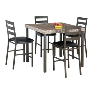 Cora 5 Piece Bistro Dining Set