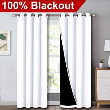 Amazon.com: NICETOWN Full Shading Curtains for Windows, Super Heavy