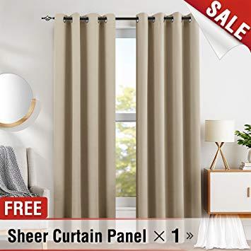 Amazon.com: Blackout Curtains for Bedroom Triple Weave Light