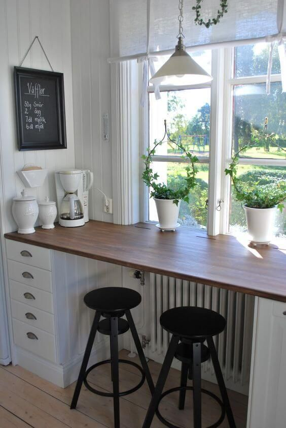 enjoy the view from a window seat at the breakfast bar | Breakfast