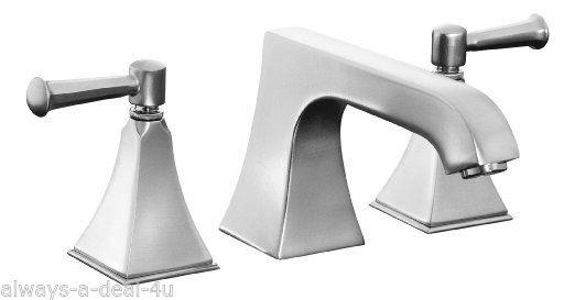 Kohler Memoirs Brushed Chrome Bathroom Faucet T469-4s-g | eBay