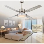 Use a ceiling fan with light for bedroom   for energy-efficient cooling
