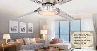 48inch remote control Ceiling fan lights LED bedroom ceiling lamp