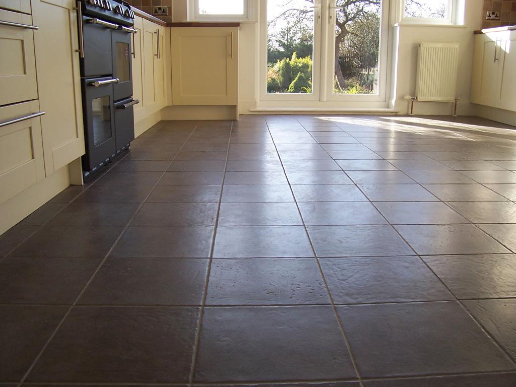 Stylish Ceramic Kitchen Floor Tiles
