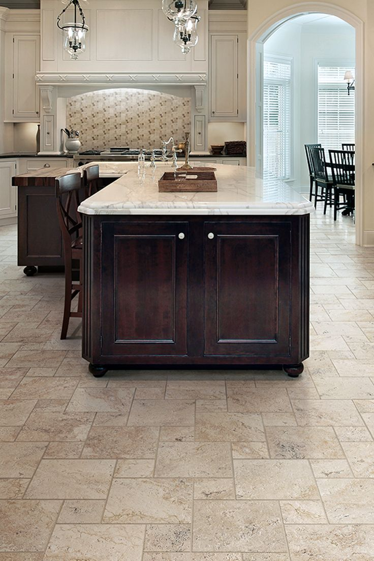 Marazzi Travisano Trevi 12 in. x 12 in. Porcelain Floor and Wall Tile  (14.40 sq. ft. / case) | Flooring, Carpet & Rugs | Pinterest | Kitchen  flooring,