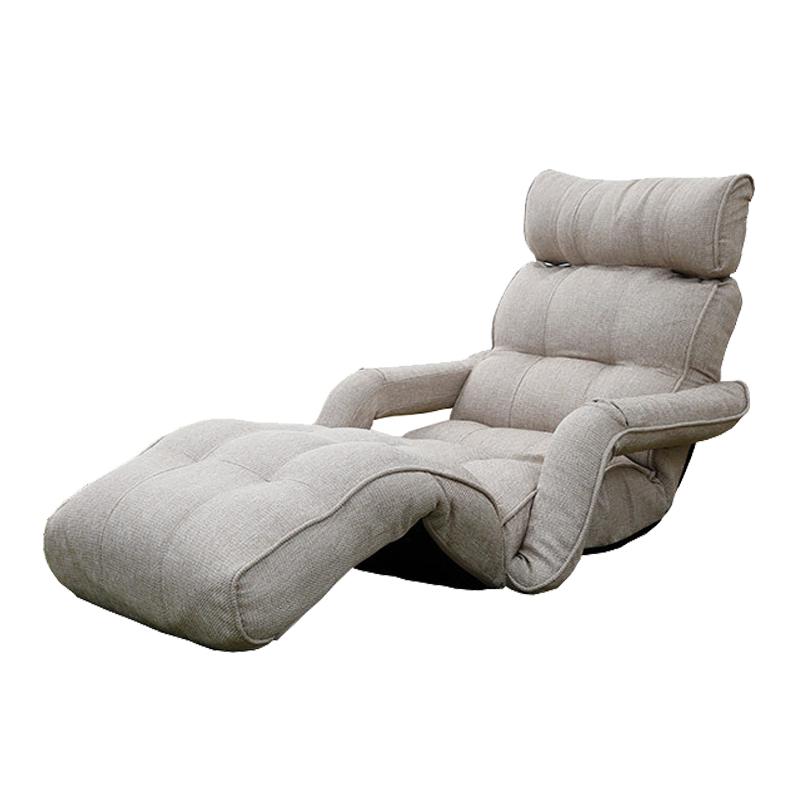 Modern Chaise Dobradura Salão Sofá Estilo Japonês Sofá Cama Dobrável Único  6 Cores Sala de estar