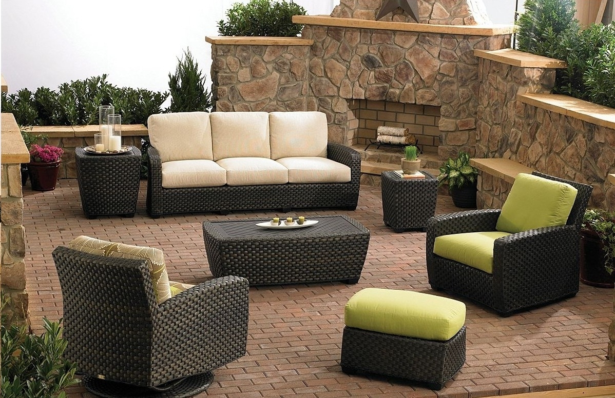 Porch Furniture Clearance Patio Furniture Sets Black Wicker Patio within  Wicker Patio Furniture Clearance 4787