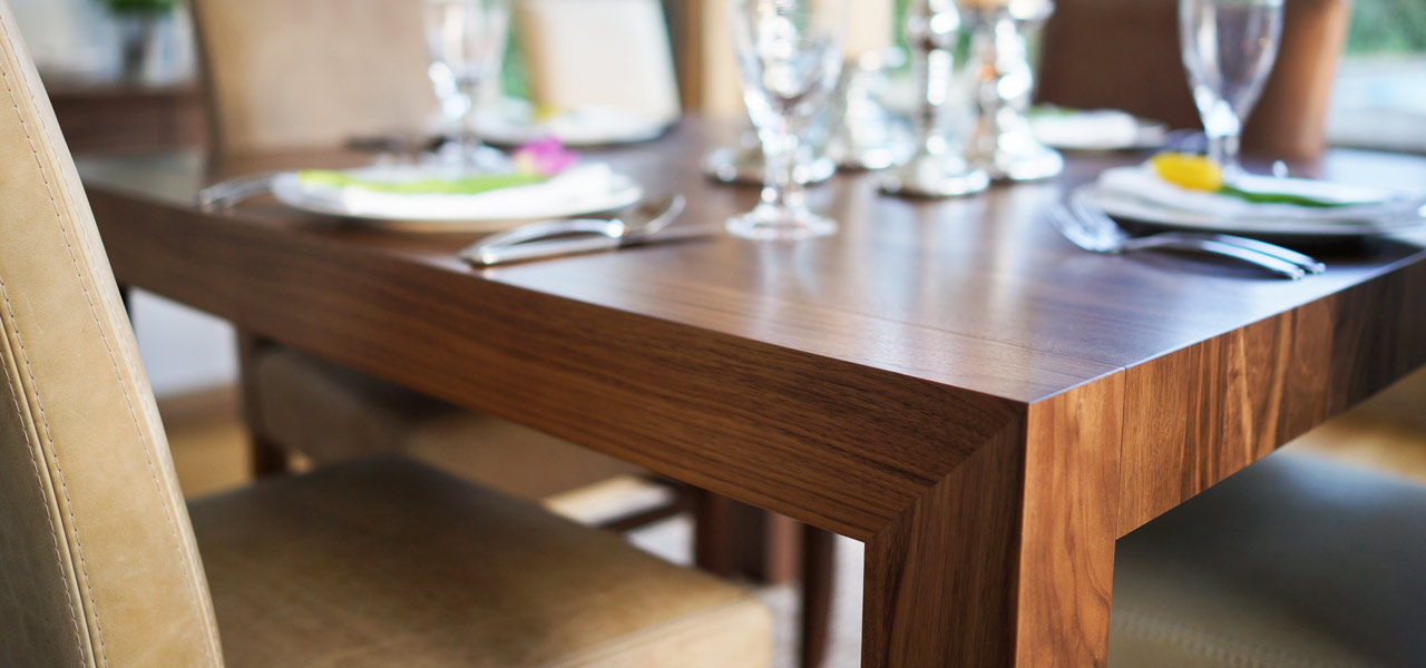 bespoke contemporary dining table, extendable dining tables & fixed tables