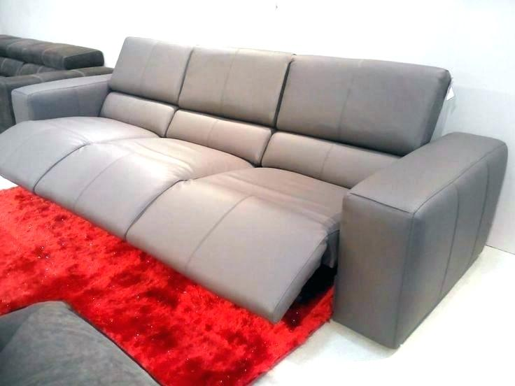 grey leather reclining sofa top sectional modern in furniture of bonde .