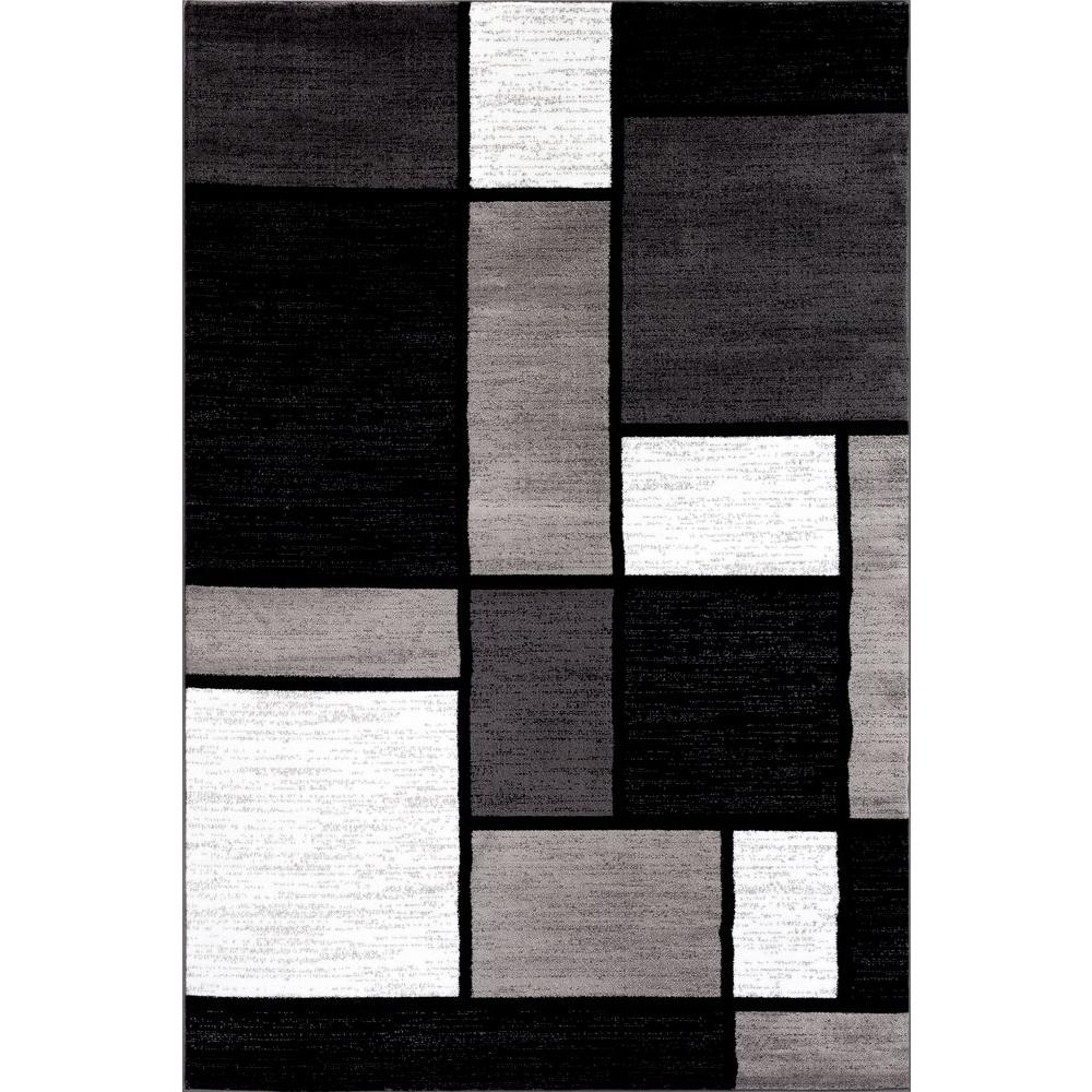 This review is from:Contemporary Modern Boxes Gray 3 ft. x 5 ft. Indoor Area  Rug