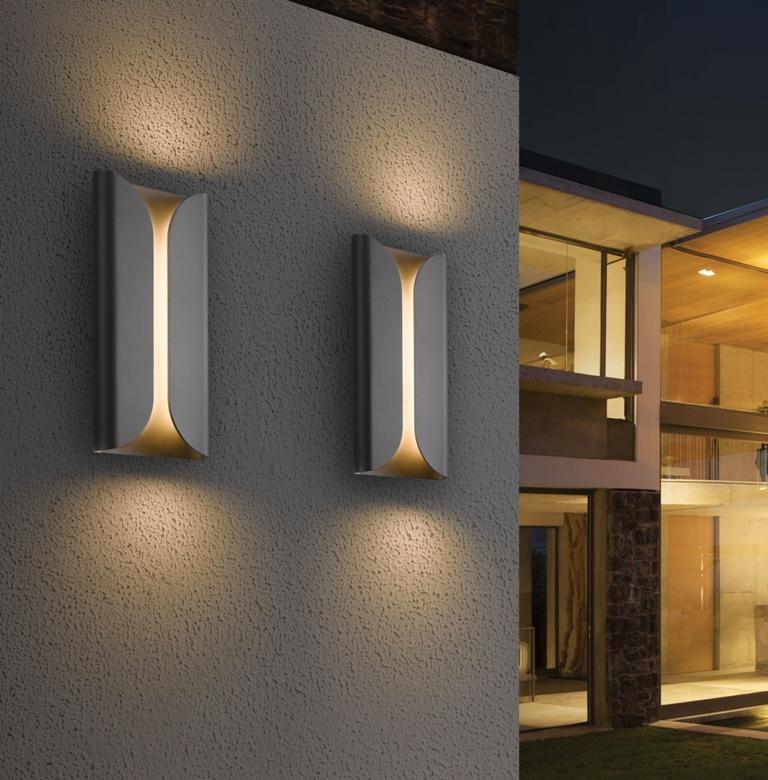 Modern Outdoor Wall Lights Uk