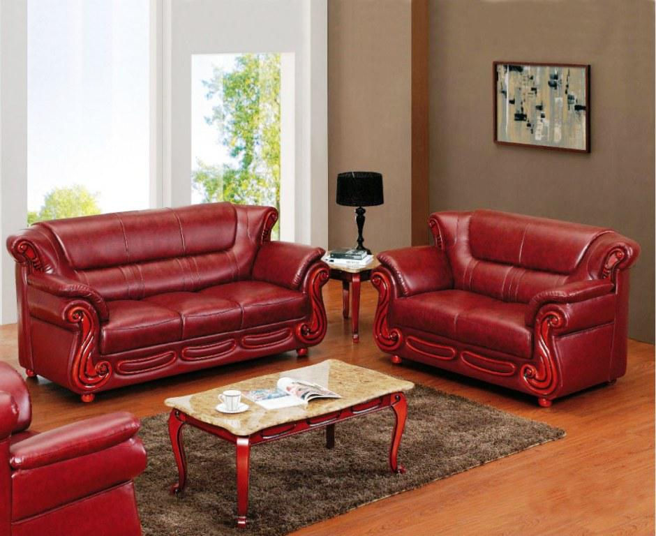 Sofa: glamorous red leather loveseat Red Loveseat, Red Leather Sofa Set, Red  Leather Sectional Sofa ~ Traveller Location