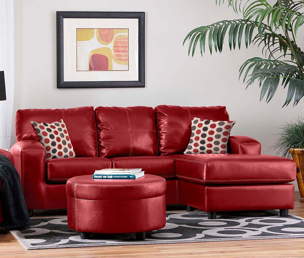 Contemporary Red Couch Decorating Ideas and the Beautiful Interior Furniture:  Red Couches Living Room ~ Traveller Location Home Accessories Inspiration