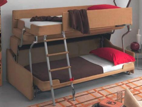palazzo bunk bed couch. palazzo double decker sofa. palazzo convertible  furniture design