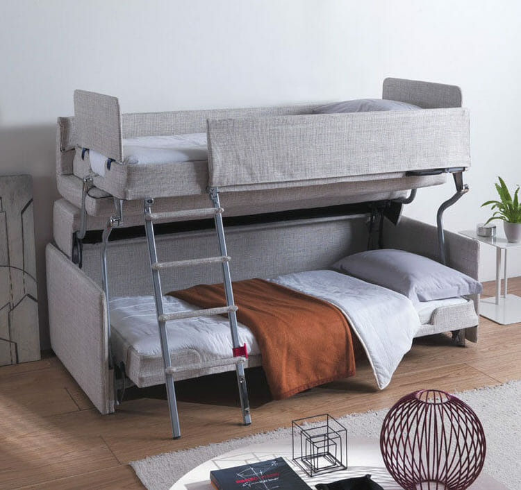 How modern convertible couch bunk bed   helps you to maximize space and great alternative for small homes?