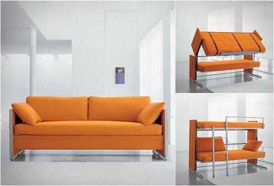 convertible bunkbed couch cool