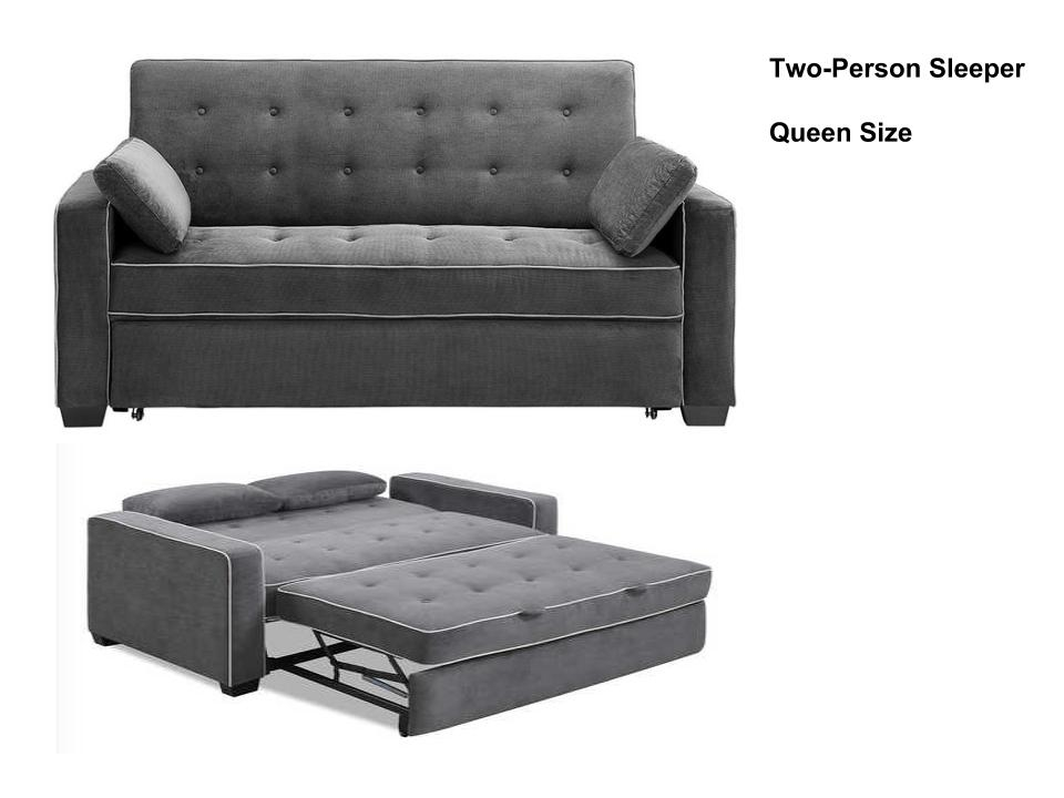 Augustine Queen Loveseat Convertible Sofa Bed