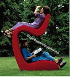 Cool Unique Furniture, Outdoor Furniture, Furniture Design, Chair Design,  Weird Furniture,