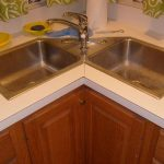 Choose an amazing corner kitchen sink   cabinet to complement your home design