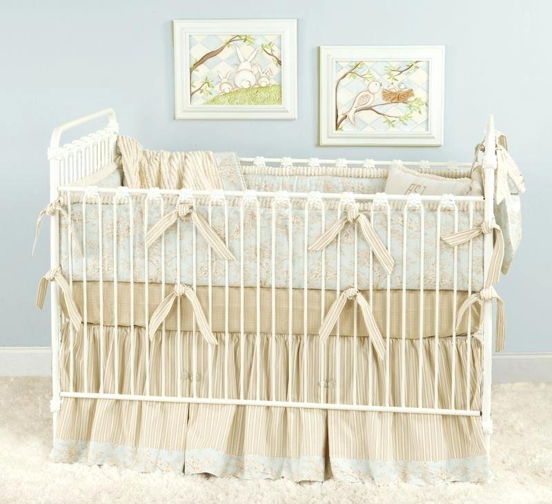 beige baby bedding sets blue beige cream baby bedding for a shabby chic  nursery beige baby