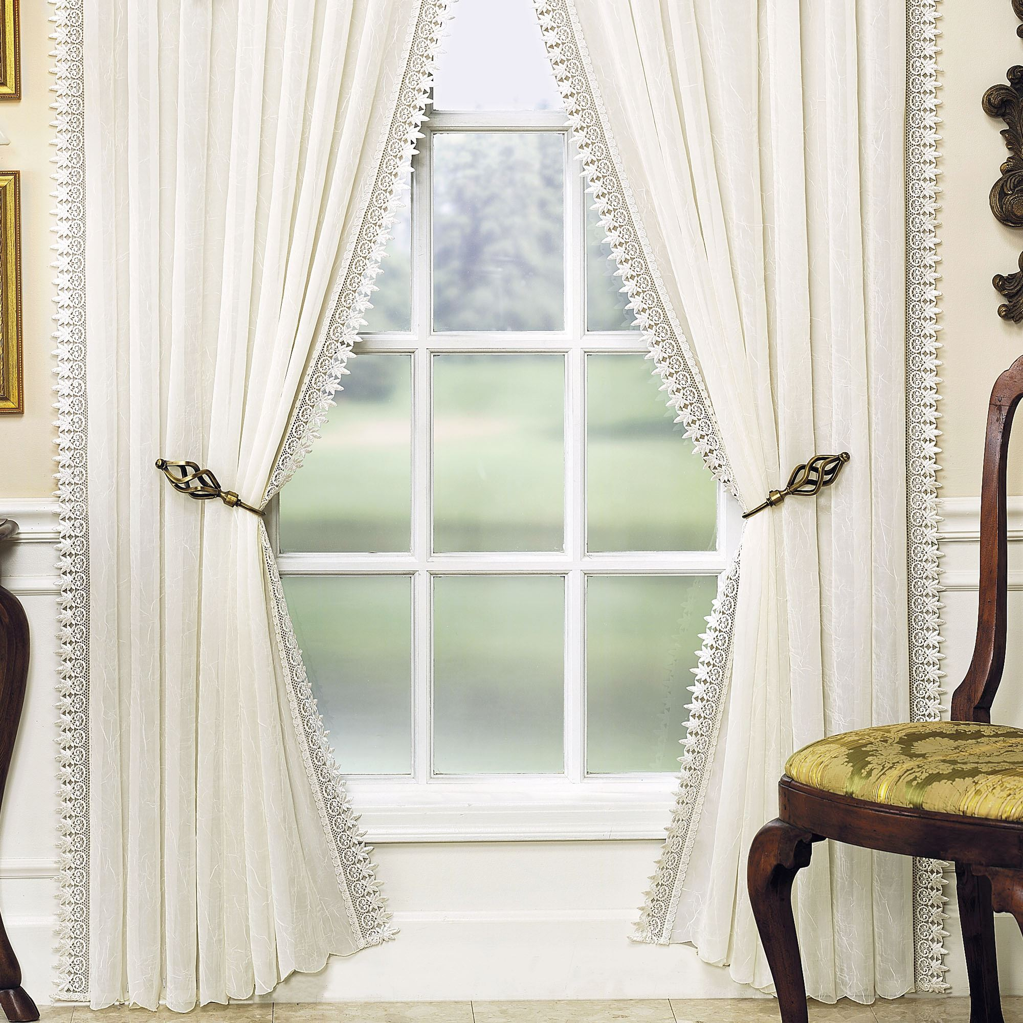 Rozelle Semi Sheer Curtain Panel
