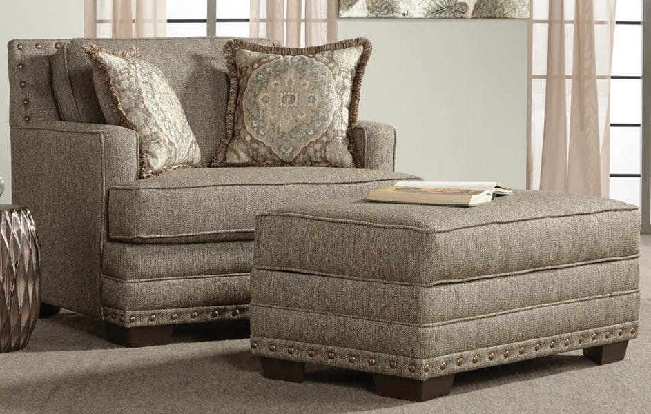 Hughes Furniture Living Room Cuddle Chair 10100CC at Carol House Furniture