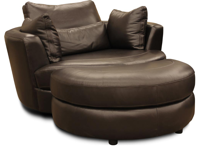 Cuddle Sofa Land reclining office chair with ottoman