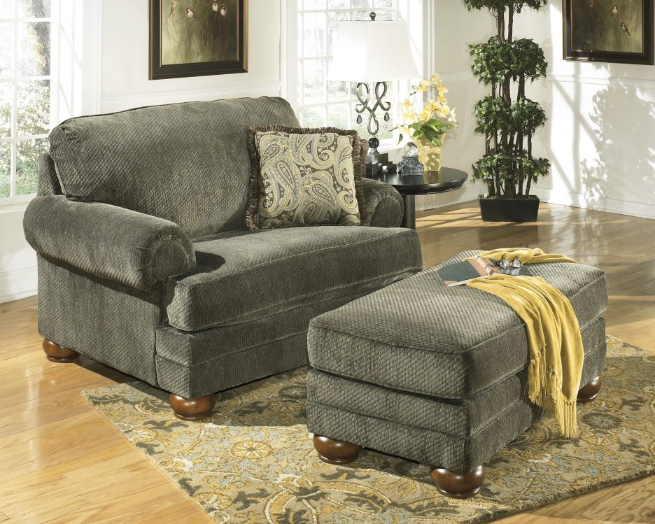 Cuddle Chair And Ottoman Broyhill Ottoman Chair And A Half Chaise Lounge  Large Chair And A Half