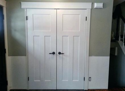 Custom Bifold Closet Doors Custom Closet Doors On Small Home Decor