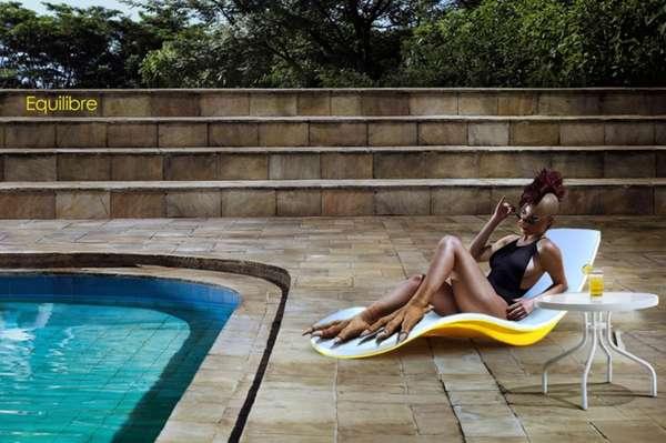Stunning Design Deck Lounge Chair Teak Chairs Pertaining To Ideas 15