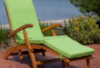 Electric Boat Meets Lounge Chair On Chilli Island With Ottoman Throughout  Deck Remodel 5