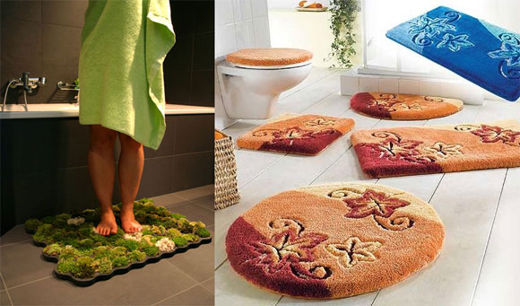 More photos to Shag bathroom rugs