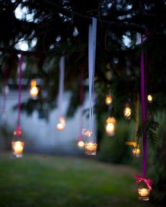 28 Outdoor Lighting DIYs To Brighten Up Your Summer | The David