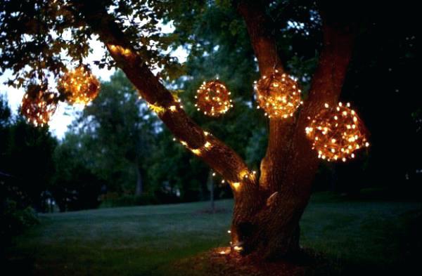 Decorative Garden Lights Splendid Outdoor Light Strings With Bulb