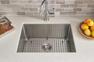 Pekoe Extra Deep Undermount 23x18 Single Bowl Kitchen Sink