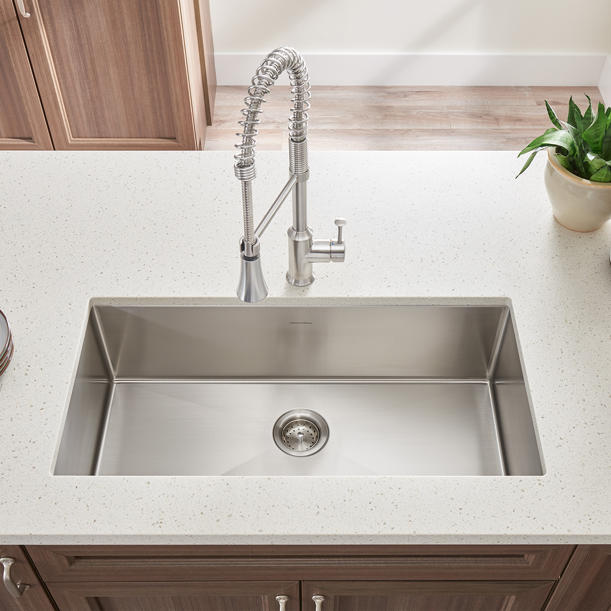 Pekoe 23x18-inch Stainless Steel Kitchen Sink