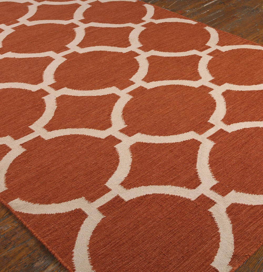 Contemporary Orange Area Rugs