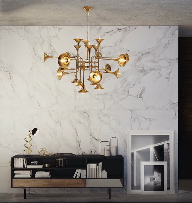 Modern home lighting: Portuguese brand DelightFULL illuminates with the  Botti chandelier