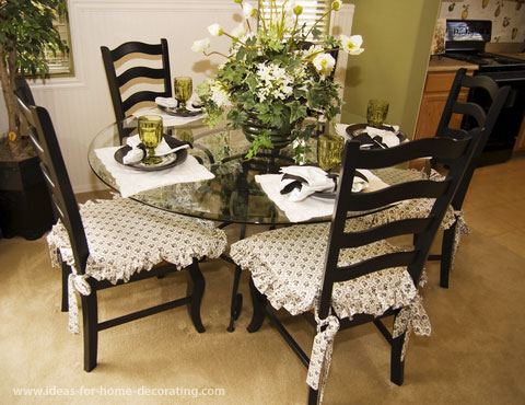 Dining Chairs Chair Seat Pads Cushions Intended For Room Ideas 19 With  Regard To Plan 6