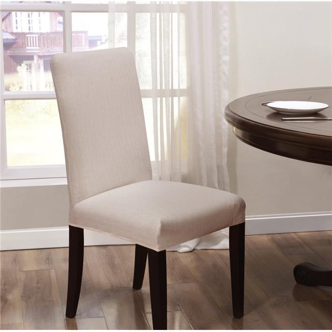 Madison SANTA-DRC-CR Kathy Ireland Santa Barbara Dining Room Chair Slipcover  Cream